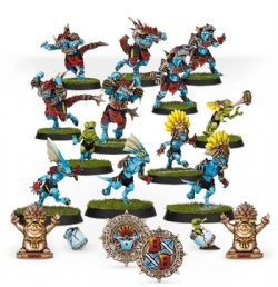 BLOOD BOWL -  GWAKA'MOLI CRATER GATORS - LIZARDMEN BLOOD BOWL TEAM