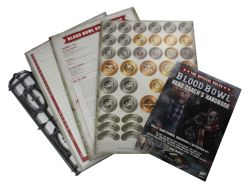 BLOOD BOWL -  HEAD COACH'S RULES & ACCESSORIES PACK (ANGLAIS)