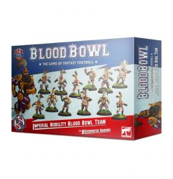 BLOOD BOWL -  IMPERIAL NOBILITY TEAM (ANGLAIS)
