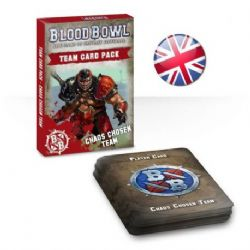 BLOOD BOWL -  TEAM CARD PACK - CHAOS CHOSEN (ANGLAIS)