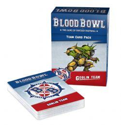 BLOOD BOWL -  TEAM CARD PACK - GOBLIN (ANGLAIS)