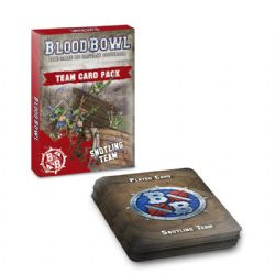 BLOOD BOWL -  TEAM CARD PACK - SNOTLING TEAM (ANGLAIS)