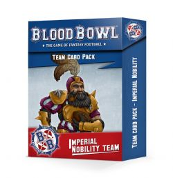 BLOOD BOWL -  TEAM CARDS PACK (ANGLAIS) -  IMPERIAL NOBILITY