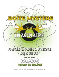 BOÎTE MYSTÈRE (FRANÇAIS)