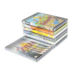 BOÎTIER PROTECTEUR -  PROTECTEUR DE PLASTIQUE POUR BOÎTE DE DVD, GAMECUBE, XBOX, WII ET PLAYSTATION 2