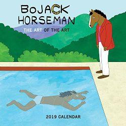BOJACK HORSEMAN -  CALENDRIER 2019 (16 MOIS)