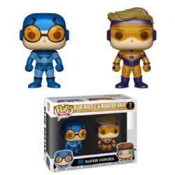 BOOSTER GOLD & BLUE BEETLE -  FIGURINE POP! EN VINYLE DE BOOSTER GOLD & BLUE BEETLE (10 CM) -  PX PREVIEWS EXCLUSIVE