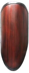 BOUCLIERS -  BOUCLIER PRET POUR BATAILLE - BOIS (100 CM X 60 CM)