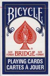 BRIDGE -  INDEX RÉGULIER (BLEU)