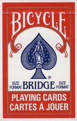 BRIDGE -  INDEX RÉGULIER (ROUGE)