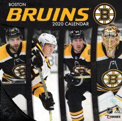 BRUINS DE BOSTON -  CALENDRIER 2020 DE L'EQUIPE