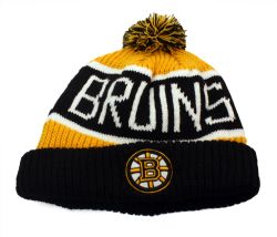 BRUINS DE BOSTON -  TUQUE À POMPOM