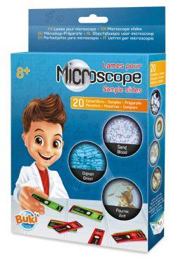BUKI -  LAME POUR MICROSCOPE (FRANÇAIS)