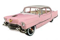 CADILLAC -  FLEETWOOD SERIE 60 1955 DE ELVIS 1/24 - ROSE -  ELVIS