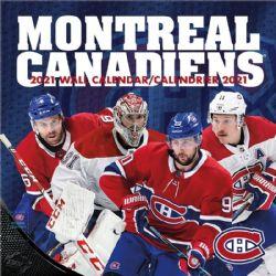 CALENDRIER 2021 -  16 MOIS -  CANADIENS DE MONTRÉAL