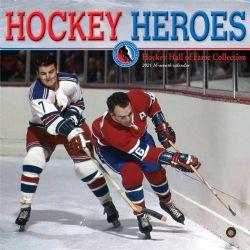 CALENDRIER 2021 -  16 MOIS -  HOCKEY HEROES
