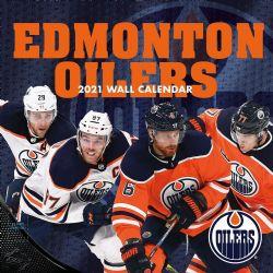 CALENDRIER 2021 -  16 MOIS -  OILERS D'EDMONTON