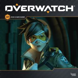 CALENDRIER 2021 -  16 MOIS -  OVERWATCH
