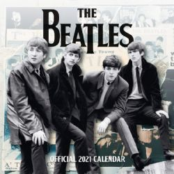 CALENDRIER 2021 -  16 MOIS -  THE BEATLES