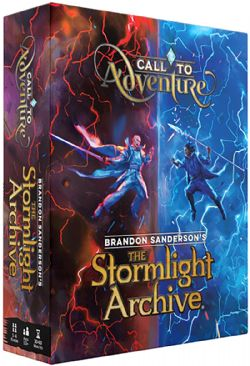 CALL TO ADVENTURE -  THE STORMLIGHT ARCHIVE (ANGLAIS)