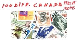 CANADA -  100 DIFFÉRENTS TIMBRES - CANADA - 1970 ET MOINS
