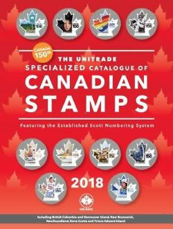 CANADA -  2018 UNITRADE SPECIALIZED CATALOGUE OF CANADIAN STAMPS