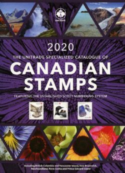CANADA -  2020 UNITRADE SPECIALIZED CATALOGUE OF CANADIAN STAMPS