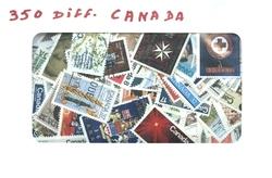 CANADA -  350 DIFFÉRENTS TIMBRES - CANADA
