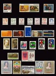 CANADA -  ANNÉE COMPLÈTE 1973, 30 TIMBRES USAGÉS