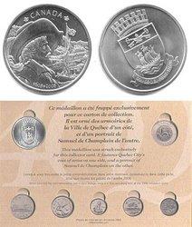 CANADA -  CARTE DE COLLECTION 400E DE QUEBEC (1608-2008)