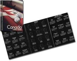 CANADA -  CARTON POUR 25 CENTS DU MILLENAIRE 1999 ET 2000