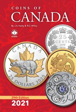 CANADA -  COINS OF CANADA 2021 (39TH EDITION)