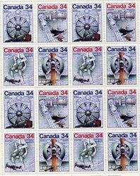 CANADA -  FEUILLET #1102A NEUF