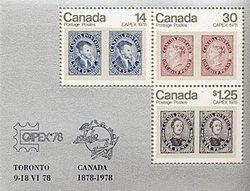 CANADA -  FEUILLET #756A NEUF