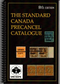 CANADA -  THE STANDARD CANADA PRECANCEL CATALOGUE (8ME ÉDITION)