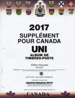 CANADA UNI -  SUPPLÉMENT 2017 (FRANÇAIS)
