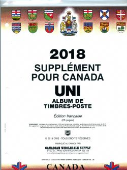 CANADA UNI -  SUPPLÉMENT 2018 (FRANÇAIS)