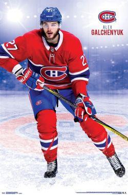 CANADIENS DE MONTRÉAL -  AFFICHE DE ALEX GALCHENYUK #27 (56 CM X 86.5 CM)