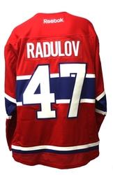 CANADIENS DE MONTRÉAL -  ALEXANDER RADULOV #47 - CHANDAIL RÉPLIQUE ROUGE