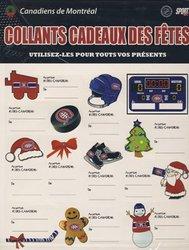 CANADIENS DE MONTRÉAL -  AUTOCOLLANTS CADEAUX (2 FEUILLES)