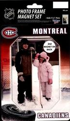 CANADIENS DE MONTRÉAL -  CADRE AIMANT POUR PHOTO
