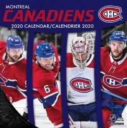 CANADIENS DE MONTRÉAL -  CALENDRIER 2020 DE L'EQUIPE