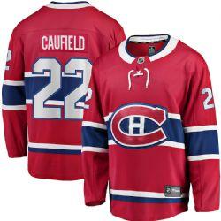CANADIENS DE MONTRÉAL -  JERSEY- ROUGE 22 -  COLE CAUFIELD