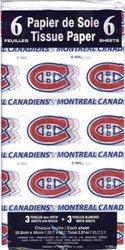 CANADIENS DE MONTRÉAL -  PAPIERS DE SOIE (50.8 X 66 CM)