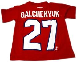 CANADIENS DE MONTRÉAL -  T-SHIRT ALEX GALCHENYUK #27 ROUGE (ENFANT)