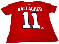 CANADIENS DE MONTRÉAL -  T-SHIRT BRENDAN GALLAGHER #11 ROUGE (ENFANT)