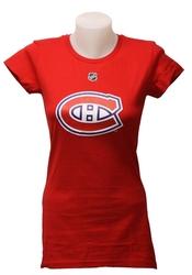 CANADIENS DE MONTRÉAL -  T-SHIRT BRENDAN GALLAGHER #11 ROUGE (FEMME)