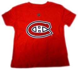 CANADIENS DE MONTRÉAL -  T-SHIRT CAREY PRICE #31 ROUGE (ENFANT)
