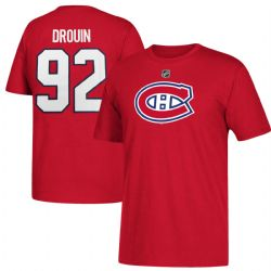 CANADIENS DE MONTRÉAL -  T-SHIRT JONATHAN DROUIN #92 ROUGE (ENFANT)