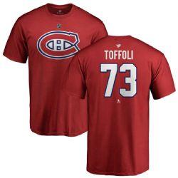 CANADIENS DE MONTRÉAL -  TYLER TOFFOLI #73 - ROUGE